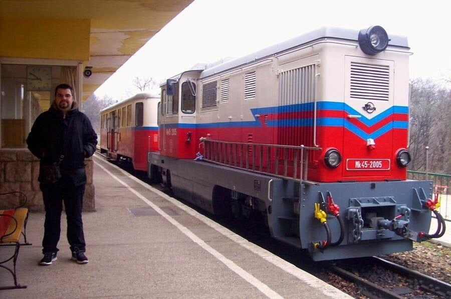 Tren de los niños Budapest