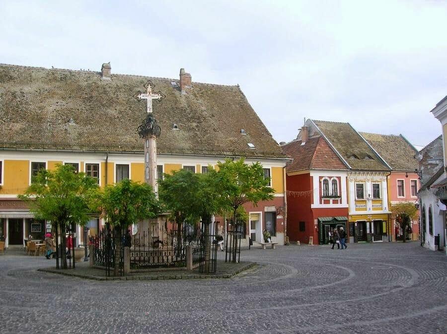 Szentendre pueblo cercano a Budapest