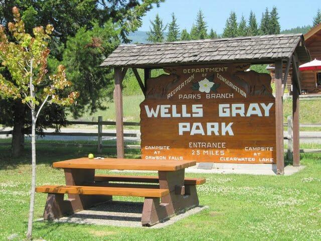 Wells Gray provincial park - Ruta de Mt ROBSON a Wells Gray