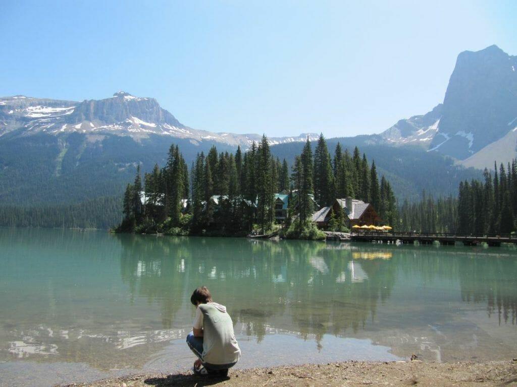Emerald Lake - que visitar en Yoho National Park