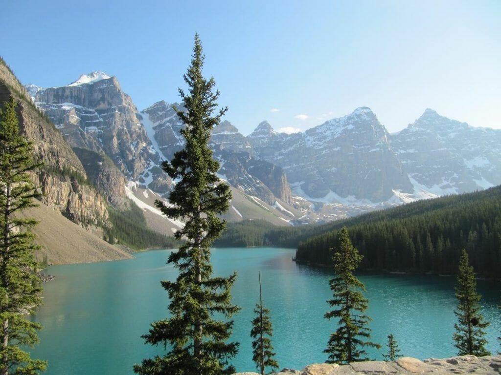 lago Morraine - qué ver en Banff