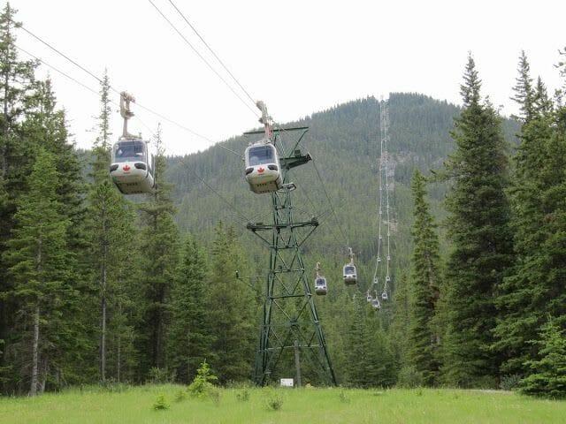 teleferico banff sulphur mountain gondola