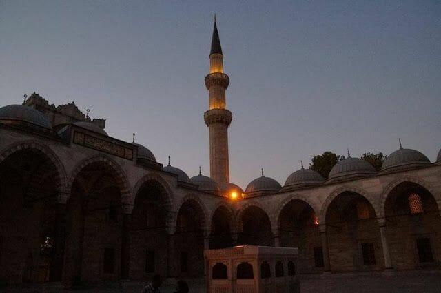 minarete mezquita suleymaniye