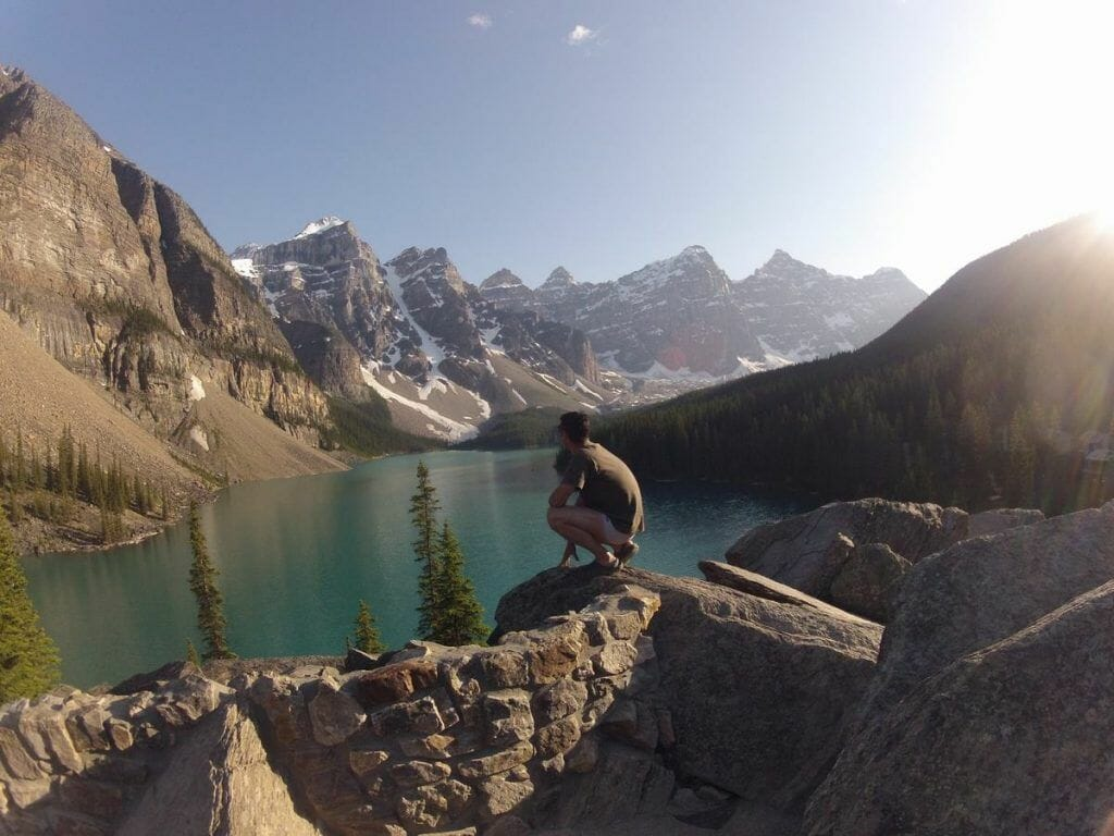 Morraine lake, Banff Canadá