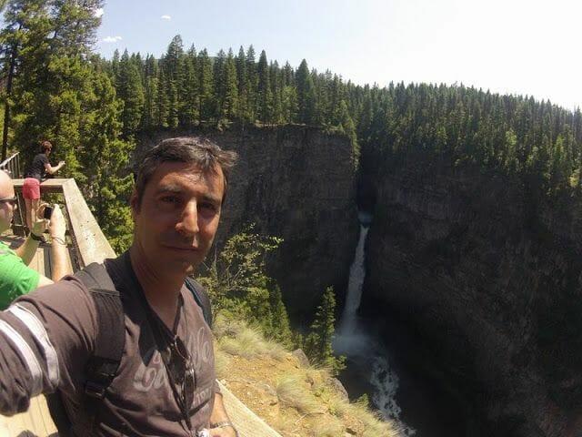 Spahats falls - Ruta de Mt ROBSON a Wells Gray