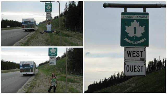 trans canada, de Banff a Jasper
