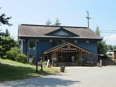Wells Gray provincial park visitor center