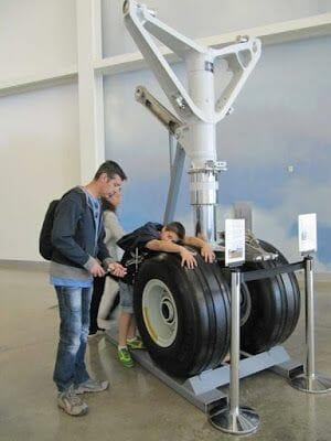 ruedas de avión Boeing