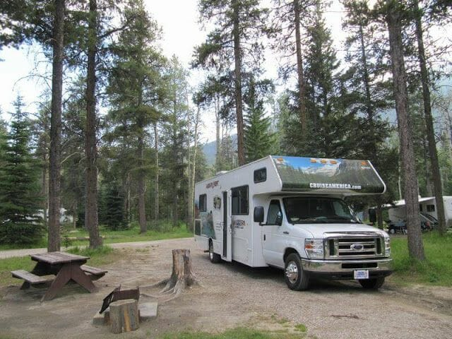 camping de Whistlers