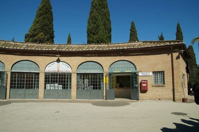 Catacumbas de San Calixtoentradas