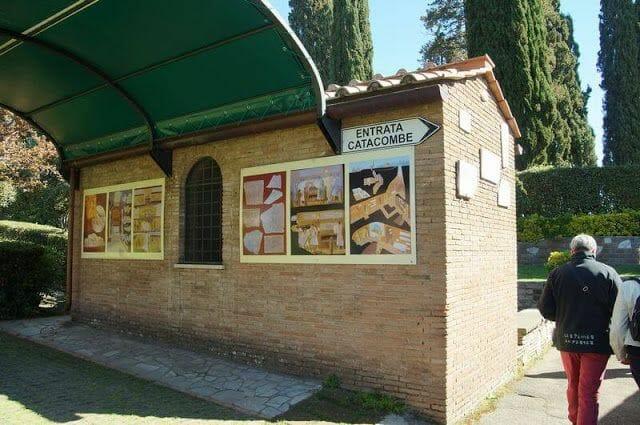 catacumbas de San Calixto Roma