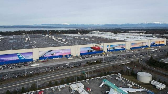 Boeing fábrica