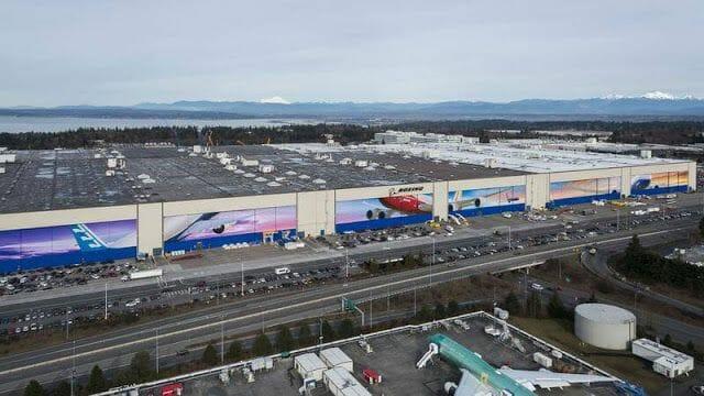 Boeing antes de Recoger autocaravana en Seattle