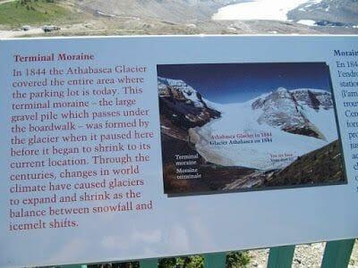 foto glaciar athabasca