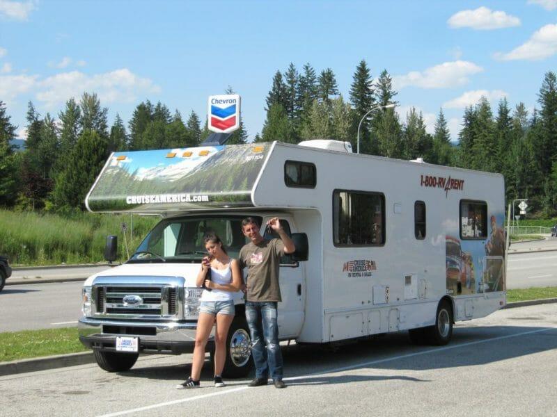 viaje por las Rocosas Canadá en autocaravana