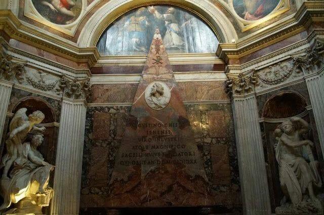 iglesia de Santa Maria dei popolo interior