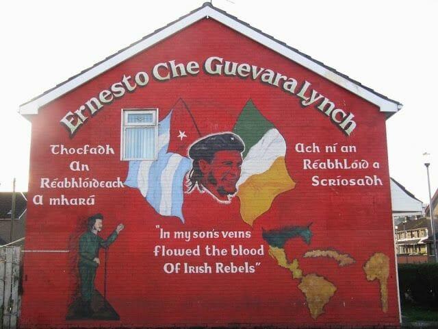 murales de Derry che guevara