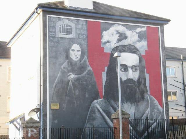 murales de Derry jesucristo