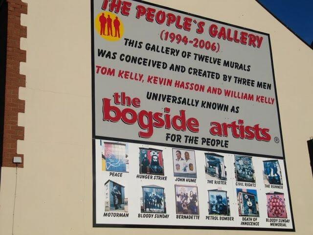 bogside artist