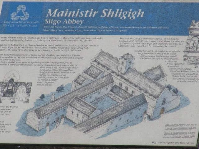 Abadía de Sligo mapa