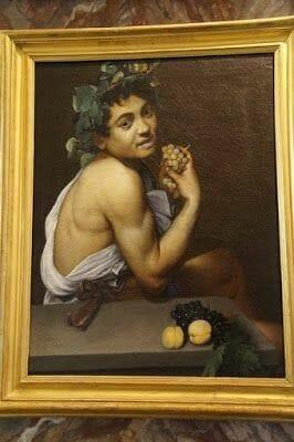 Autorretrato de Caravaggio (Galleria Borghese)