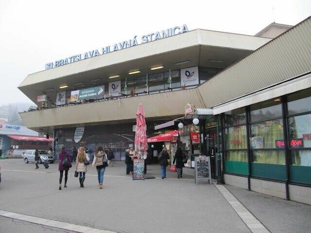 estacion tren  bratislava