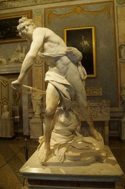 David de Bernini   (Galleria Borghese)