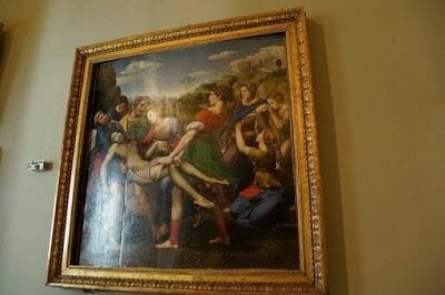 Descendimiento de Rafael(Galleria Borghese)