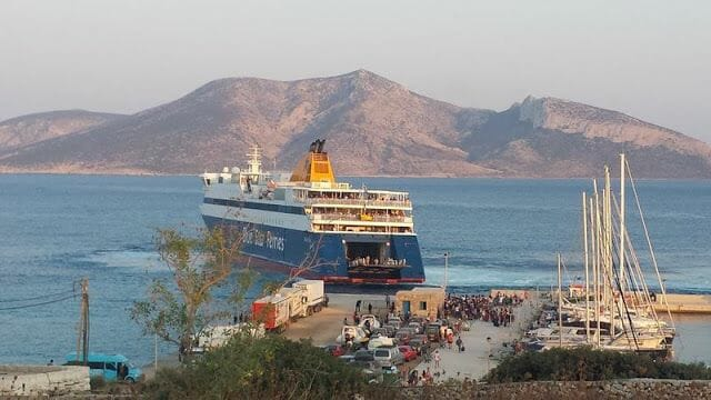 ferry koufonisia greece