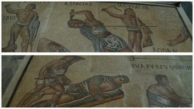 mosaicos galeria borghese