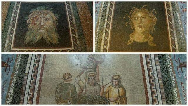 galeria borghese mosaicos