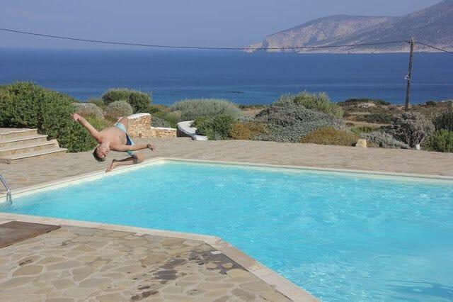 piscina en Koufonisia