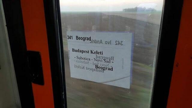 Cómo ir de Budapest a Belgrado