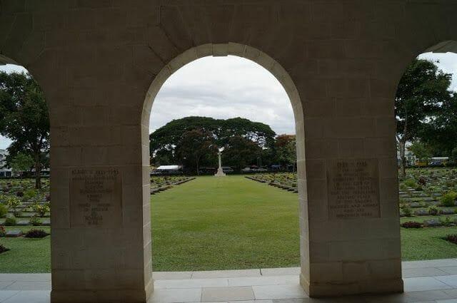 cementerio guerra de Kanchanaburi
