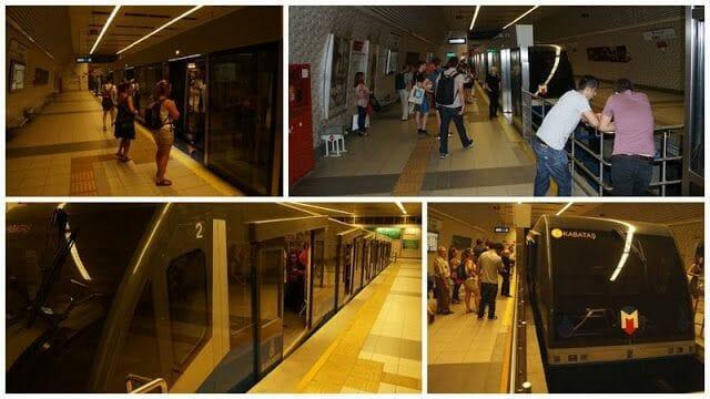 funicular de Estambul