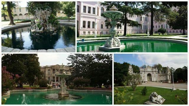 jardines palacio dolmahbaçe