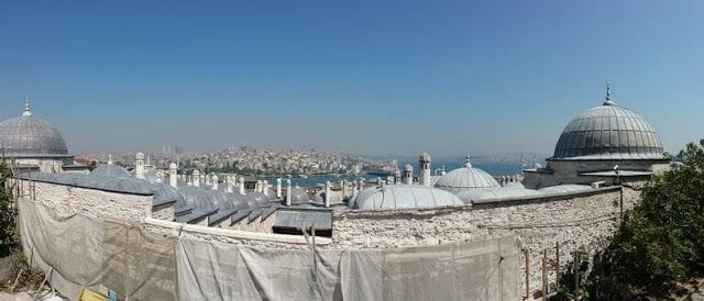 vistas de Estambul desde la mezquita de Süleymaniye