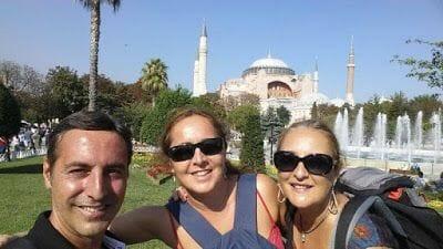 Hagia Sofía selfie Mibauldeblogs