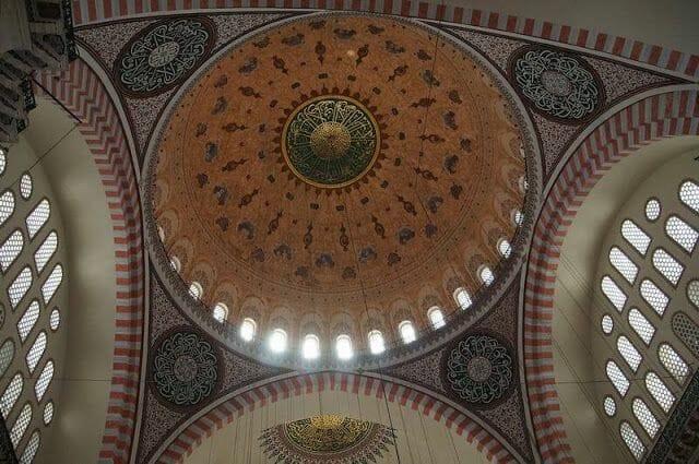 cúpula de la mezquita Suleymaniye