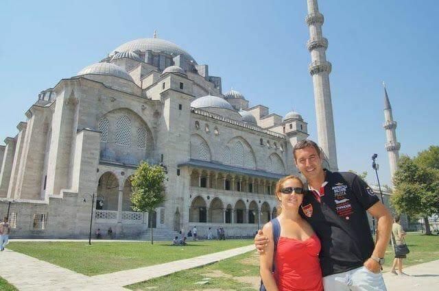 exterior mezquita de Süleymaniye