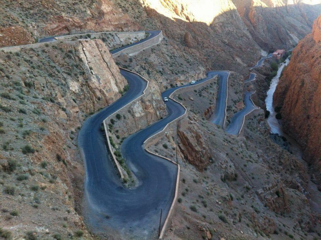 gargantas del dades, Marruecos, ruta 1000 kasbahs
