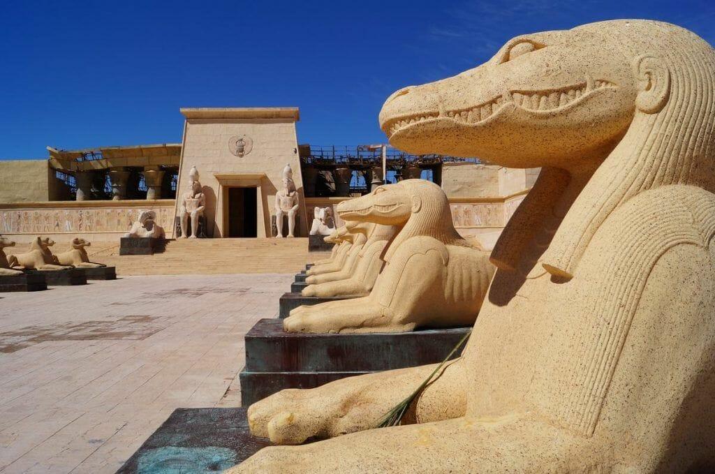 decorados egipto
