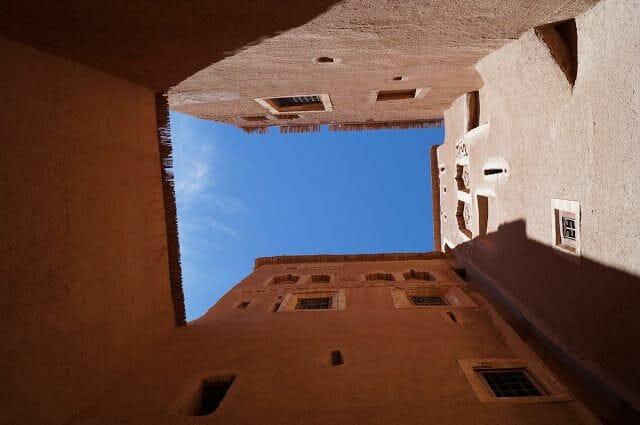 kasbah de Taourirt interior