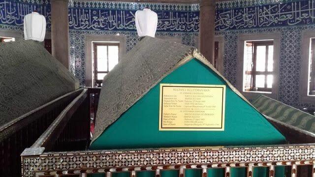 Tumba Solimán el Magnífico - mezquita de Süleymaniye