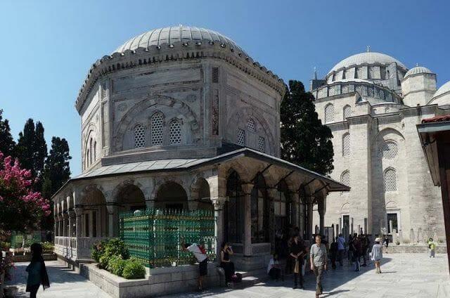 Tumbas de los sultanes en Süleymaniye