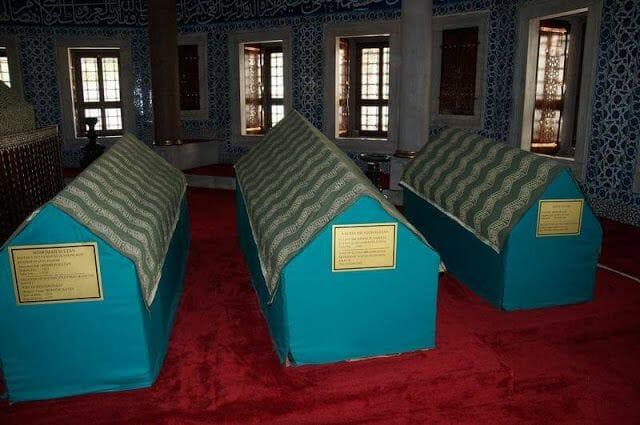 tumba Roxelana (Haseki Hürrem) y su hija Mihrimah - mezquita de Süleymaniye
