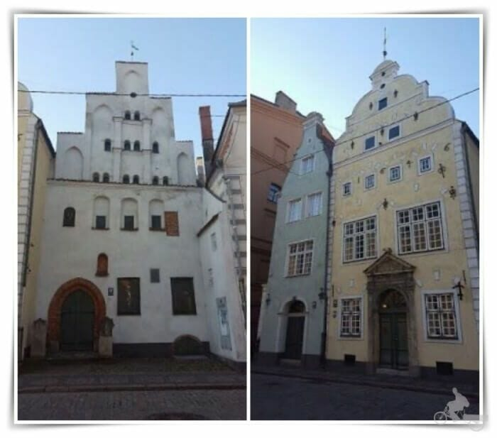 los 3 hermanos de Riga