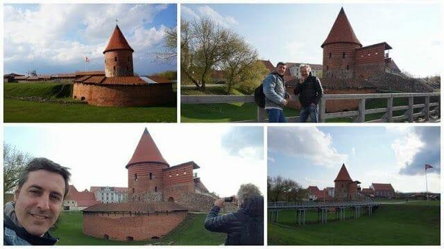 el castillo de kaunas