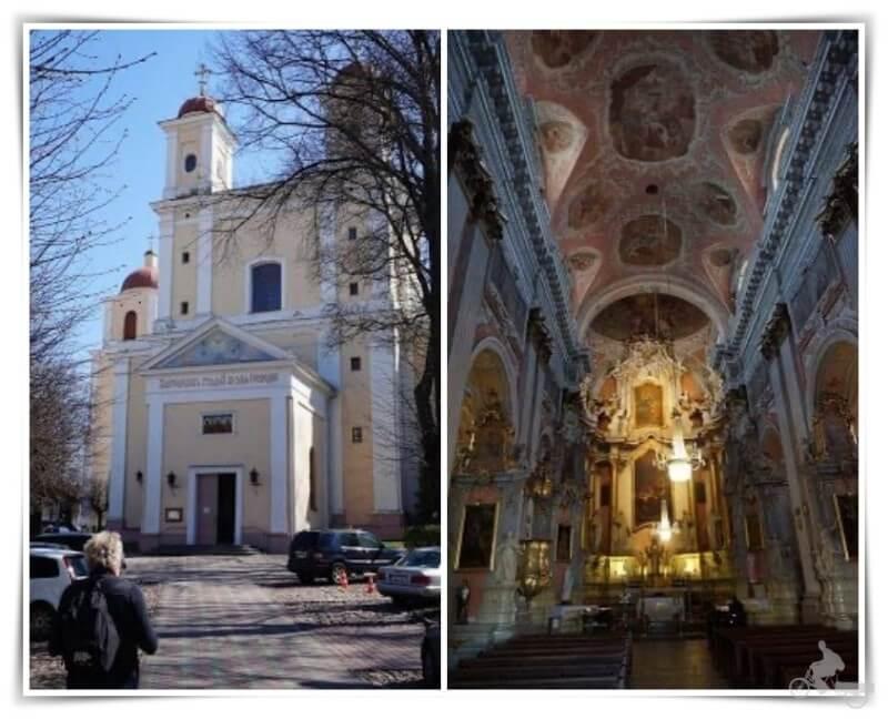 Iglesia de Santa Teresa Baznycia - que ver en Vilna