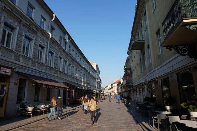 calles de kaunas